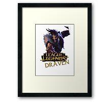 League of Draaaaaaaaaaven Framed Print