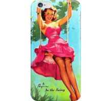 In The Swing iPhone Case/Skin