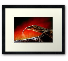 Keeper of The Flame Framed Print