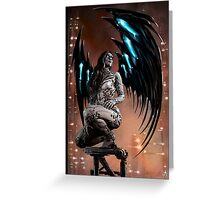 Robot Angel Painting 003 Greeting Card