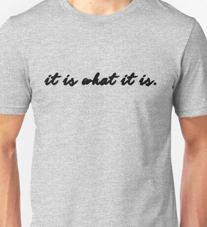 Sherlock/Johnlock - It Is What It Is Unisex T-Shirt