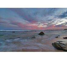 bar beach Newcastle nsw Photographic Print