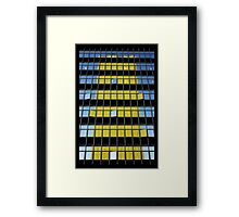 the department of disassembly Framed Print