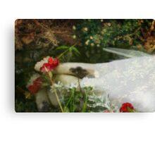 Ophelias Garden  - Rememberance Canvas Print