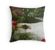 Ophelias Garden  - Rememberance Throw Pillow