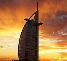 Burj Al Arab - Dubai by Romana