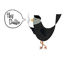Hey Daddio Beatnik Bird by rperrydesign