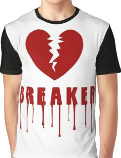 Heart Breaker Valentines Day Graphic T-Shirt