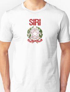 Siri Surname Italian T-Shirt