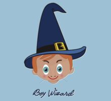 Toon Boy 6 Wizard T-shirt design Kids Tee