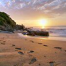 Sunrise on Coalcliffe by Sacha Fernandez