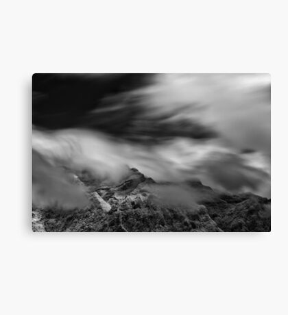 Silence and Storm Canvas Print