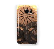 Metal Clocks on Stone Wall Samsung Galaxy Case/Skin