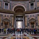The Pantheon of Rome Revisited by Xandru