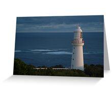 Dusk on Bass Strait Greeting Card