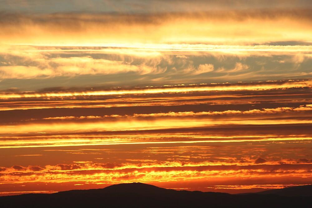 Fire Sky by David Fedele