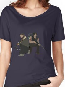 Daryl Dixon and Rick Grimes - The Walking Dead Women's Relaxed Fit T-Shirt