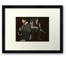 Daryl Dixon and Rick Grimes - The Walking Dead Framed Print