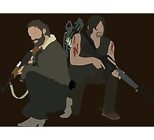 Daryl Dixon and Rick Grimes - The Walking Dead Photographic Print