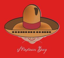 Toon Boy 8 Mexican T-shirt design One Piece - Long Sleeve