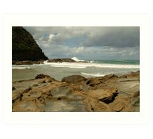 Parker Hill Beach,Great Ocean Road Art Print