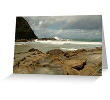 Parker Hill Beach,Great Ocean Road Greeting Card