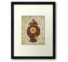 Wealth Vase Framed Print