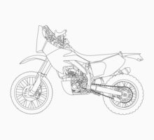 Honda CRF450X Rally Raid by Tessai-Attire