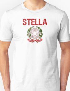 Stella Surname Italian T-Shirt