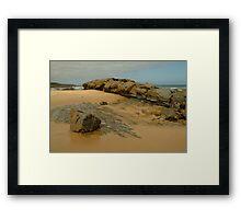Foreshore Skenes Creek,Great Ocean Rd Framed Print