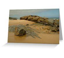 Foreshore Skenes Creek,Great Ocean Rd Greeting Card