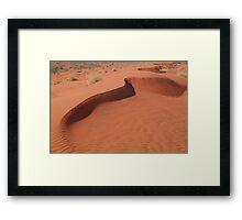 Sandhill,Madigan Line Simpson Desert Framed Print