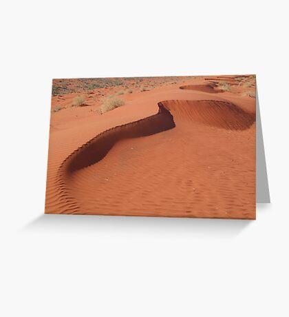 Sandhill,Madigan Line Simpson Desert Greeting Card
