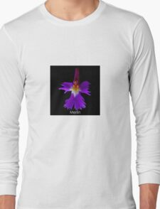 The Wizard - Orchid Alien Discovery Long Sleeve T-Shirt