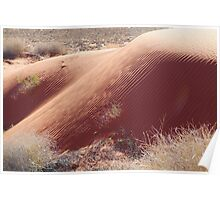 Sand Hill Patterns,Simpson Desert,N.T. Poster