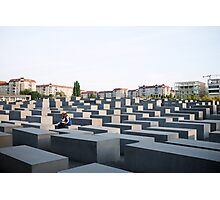 Holocaust Memorial Photographic Print