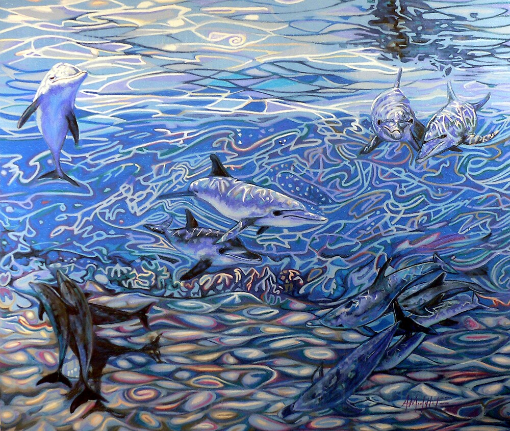 Dolphins#2 by Anthony Middleton