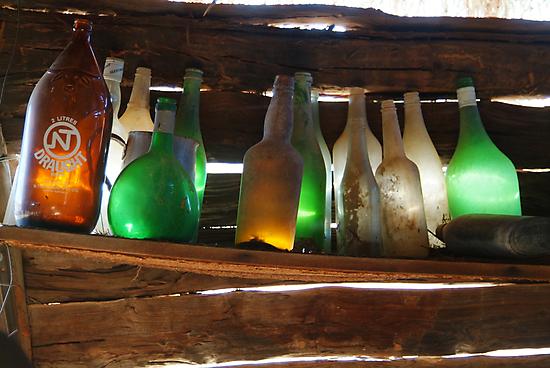 Old Bottles by Joe Mortelliti