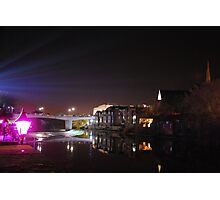 Durham City Lumiere Photographic Print