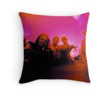 Soundsplash Throw Pillow