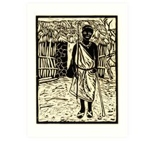 Zebedia - the eldest son Art Print