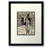 Zebedia - the eldest son Framed Print