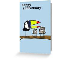 Anniversary greetings card Greeting Card