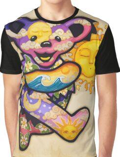 The Bear Is Dancing Near The Sun Graphic T-Shirt