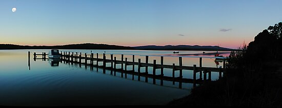After sunset, Mallacoota by Chris Livingstone