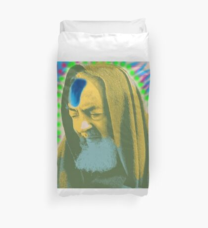 Padre Pio version 2 Duvet Cover