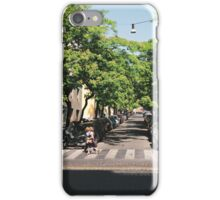 The Street of Trees iPhone Case/Skin