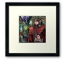Consort AU Framed Print
