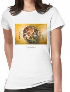 Finally, got you Bambi Womens Fitted T-Shirt