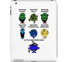 Dr. Who - The Master Men iPad Case/Skin